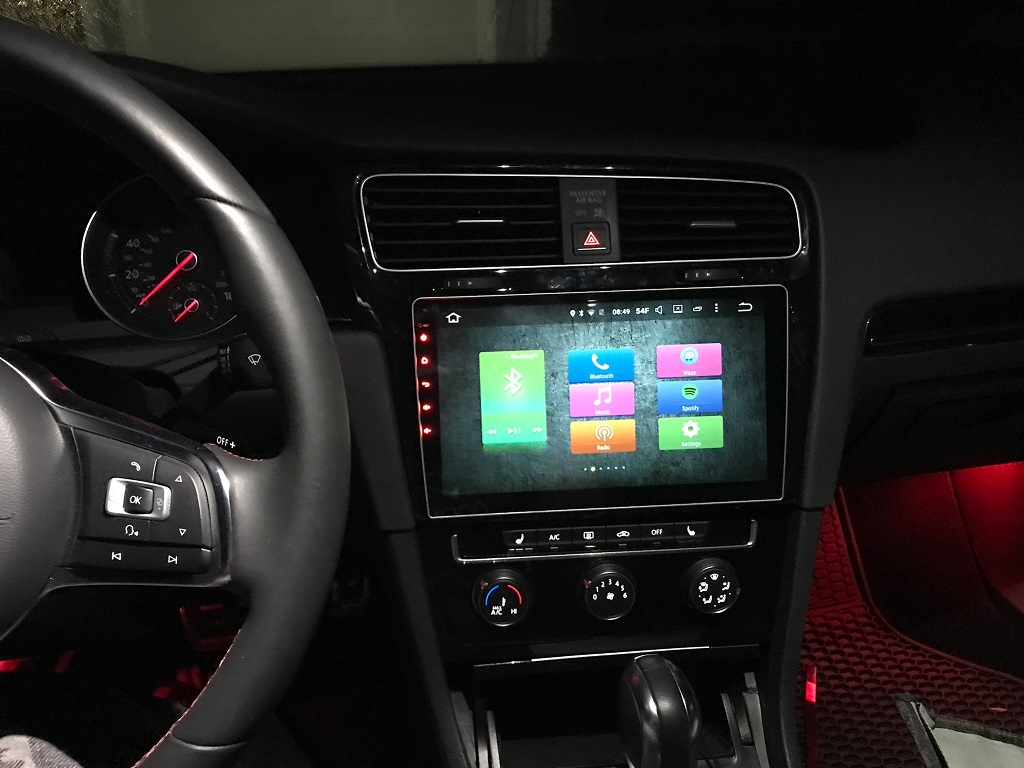 Android Head Unit - PX5 MTCD unit - GOLFMK7 - VW GTI MKVII